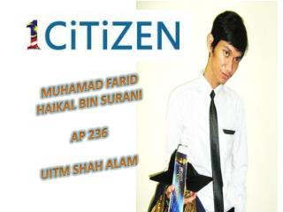 MUHAMAD FARID HAIKAL BIN SURANI AP 236 UITM SHAH ALAM
