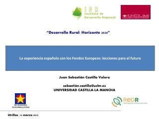 La experiencia española con los Fondos Europeos: lecciones para el futuro