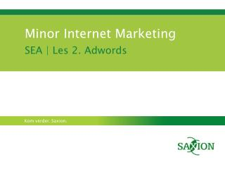 Minor Internet Marketing