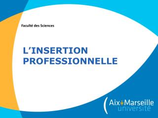 L'insertion professionnelle