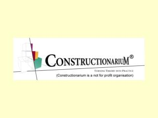 Constructionarium: dreams, teams and learning