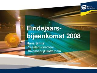 Eindejaars- bijeenkomst 2008