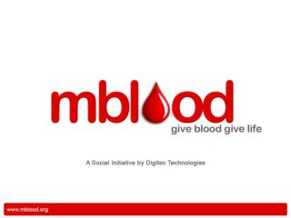 Every year India is in need of 40 million units of 250cc blood