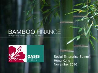 Title page with new bamboo logo form website