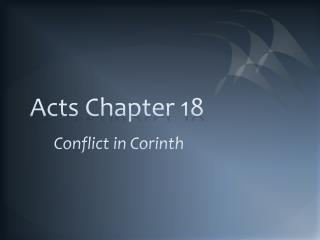 Acts Chapter 18