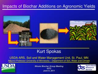 Impacts of Biochar Additions on Agronomic Yields ?