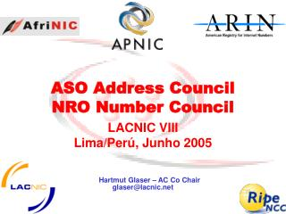 ASO Address Council NRO Number Council