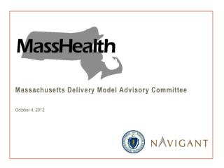 Massachusetts Delivery Model Advisory Committee