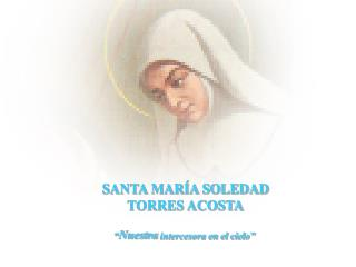 SANTA MAR�A SOLEDAD  TORRES ACOSTA