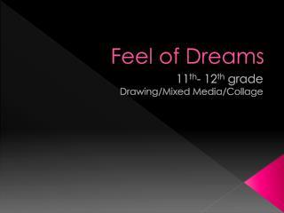 Feel of Dreams