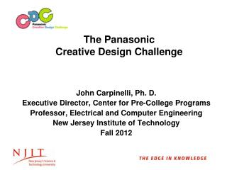 The Panasonic Creative Design Challenge