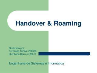 Handover & Roaming