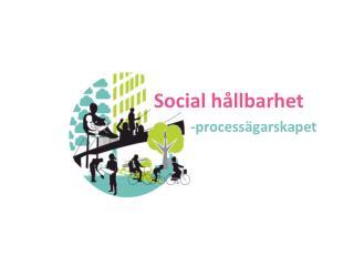 Social h�llbarhet       -process�garskapet