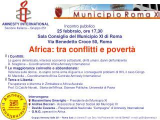 Africa: tra conflitti e povertà