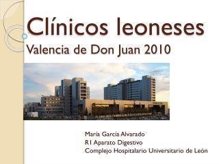Clínicos leoneses Valencia de Don Juan 2010