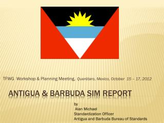 ANTIGUA & BARBUDA  sim  REPORT