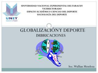 GLOBALIZACIÓN Y DEPORTE