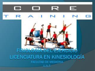Fisiología del ejercicio licenciatura en  kinesiología Facultad de medicina u.n.t .