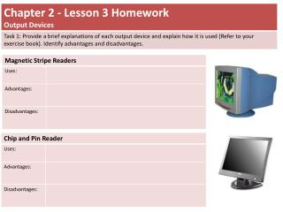 Chapter 2 Lesson 3 Homework