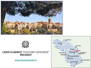 """LICEO CLASSICO  """" GIACOMO LEOPARDI """" RECANATI liceorecanati.it"""