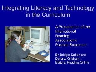 Integrating Literacy and Technology in the Curriculum