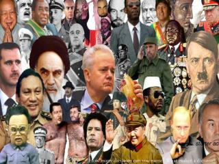 How many dictators can you name? What makes a dictator?