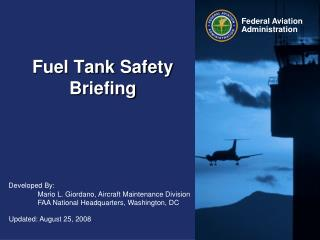 Fuel Tank Safety Briefing