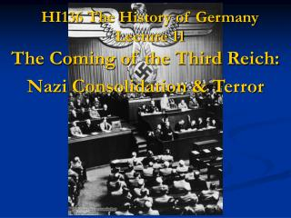 HI136 The History of Germany Lecture 11