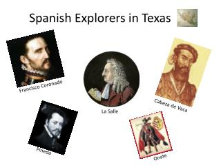Spanish Explorers in Texas