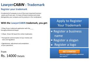 Lawyer CABIN :  Trademark