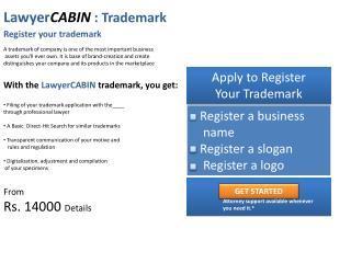 Lawyer CABIN :  Trademark