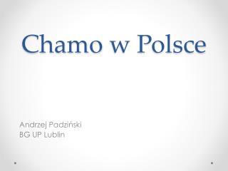 Chamo  w Polsce