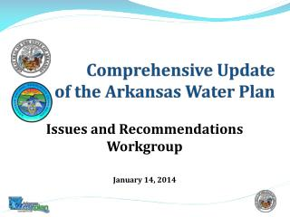 Comprehensive Update  of the Arkansas Water Plan