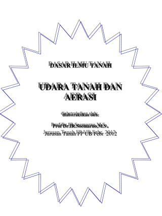 UDARA TANAH