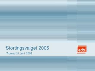 Stortingsvalget 2005