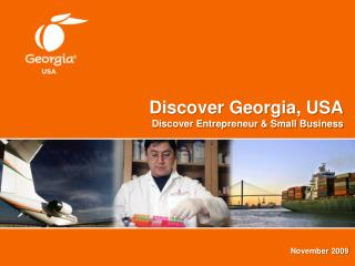 Discover Georgia, USA Discover Entrepreneur & Small Business