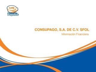 CONSUPAGO, S.A. DE C.V. SFOL