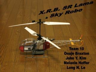 X.R.B. SR Lama  Sky Robo