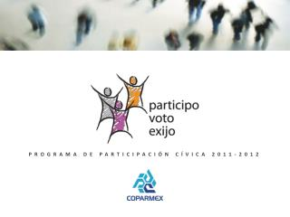 PROGRAMA DE PARTICIPACI�N C�VICA 2011-2012