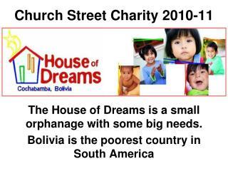 Church Street Charity 2010-11