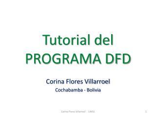 Tutorial del  PROGRAMA DFD
