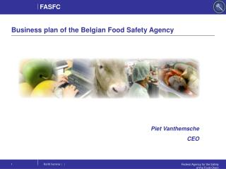Business plan of the Belgian Food Safety Agency