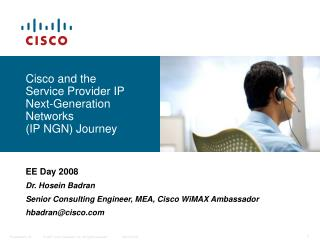 Cisco and the  Service Provider IP  Next-Generation Networks  (IP NGN) Journey