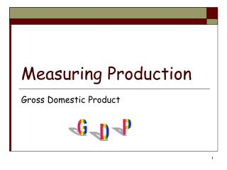 Measuring Production