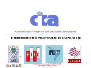 Confederation of International Contractors' Associations