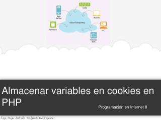 Almacenar variables en cookies en PHP