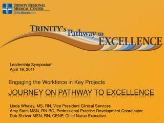 Journey on Pathway to Excellence