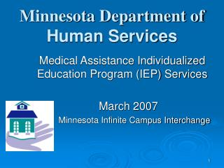 Minnesota Department of Human Services