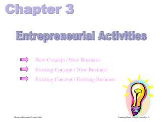 Entrepreneurial Activities
