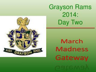 March Madness Gateway